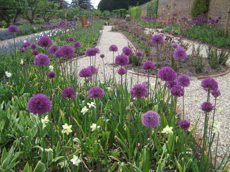 The walled garden at Sledmere House
