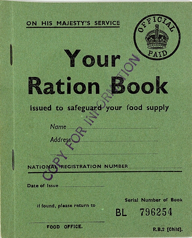 ration book
