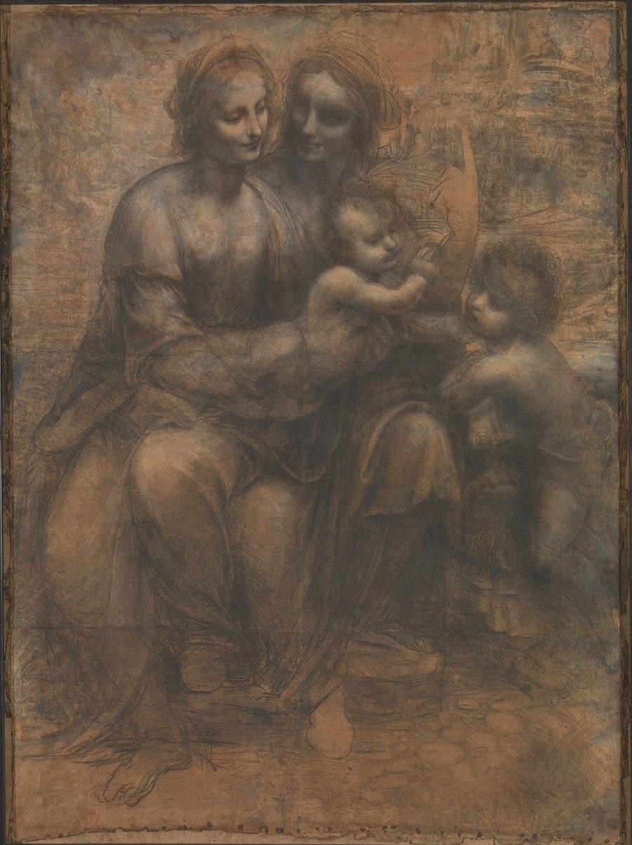 Leonardo cartoon
