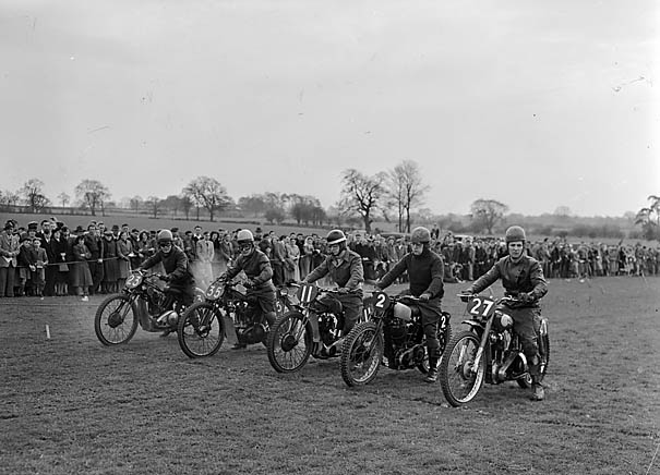 motor cycles 1950s
