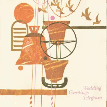 wedding telegram 1976